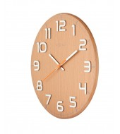 Seinakell Classy Round Wood hele - Ø 30 cm