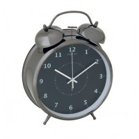 Äratuskell Wake Up must - 12x8 cm