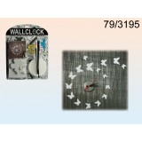 Seinakell DIY, valgete liblikatega