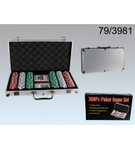 Poker Set in Aluminium Case