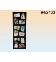 Black wooden picture frame