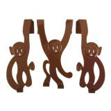 Doorhanger Monkey brown