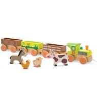 Barnyard Baby Train