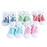 Baby socks sneaker print