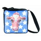 Õlakott Funky Head Lehm, sinine