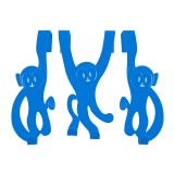 Doorhanger Monkey blue
