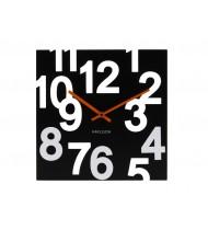Wall clock Random, wood/black