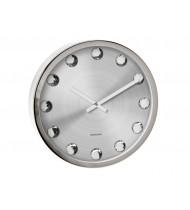Wall clock Big Diamond, steel