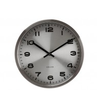 Wall clock Mini Maxie steel
