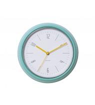 Wall clock Retro sea green steel