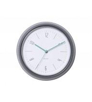Wall clock Retro dark grey steel