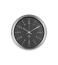 Wall Clock Nautical black