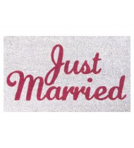 Door mat Just Married