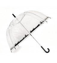 See-through umbrella with London picture