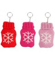 Hand warmer w. keychain